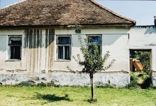 01 | STRASSENANSICHT DES HAUSES, PARKGASSE 14